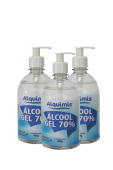 Alcool Gel Sanitizante 70% 500ml